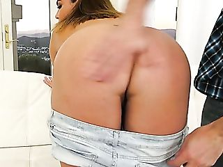 Appetizing Big Boobed Voluptuous Sexpot Natasha Nice Is Fucked Rear...