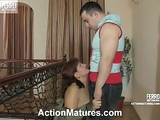 Hot And Chubby Matures Ginger-haired Banged By A Hard Lollipop