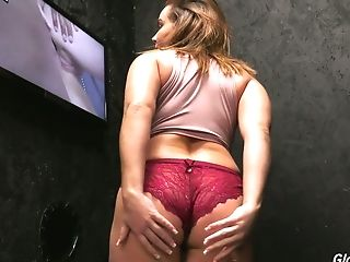 Bodacious Milky Stunner Natasha Nice Goes Wild In The Glory Slot Room