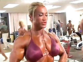 Heather Is A Gorgeous Massive Muscled Beauty!