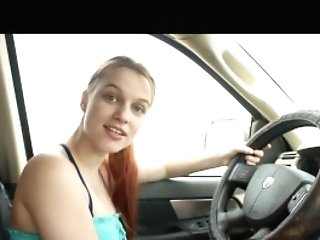 Step-mom In The Car Joi- Andrea Sky