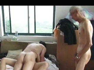 Asian Grandpas In Act