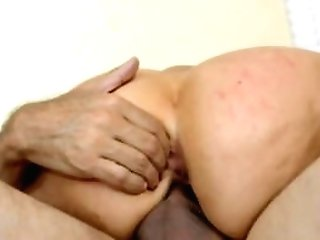 Buxomy Blonde Alena Gets A Large Fuck-stick, Deep Inwards Her Labia
