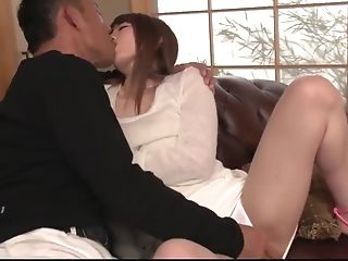 Top Japanese Porno On The Couch With Miku Ohashi - More At Javhd.net