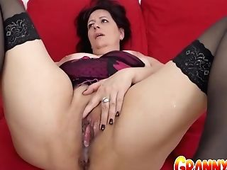Granny Vs Big Black Cock - Chubby Matures Triss Gets Her Donk...