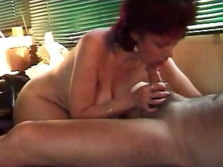 Wifey Sucking Spouse's Dick