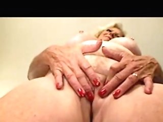 64 Year Old Granny Plays With Her Fuckbox