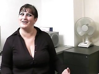 Big Titties Working Woman Fucked From Behind