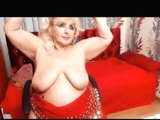 Big Titty Granny Loves To Ripple On Web Cam