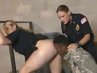 Hot Mummy Gonzo Ass-fuck Faux Soldier Gets