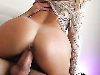 Marvelous Big Bottomed Auburn Cowgirl In Milky Stuff Candy Alexa...