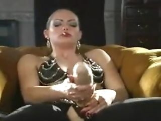 Sexy Leather Strap-on Smoking