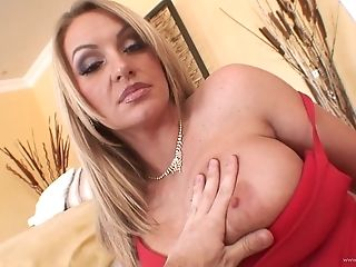Tattoed Blonde Cougar Gets Drilled Doggystyle
