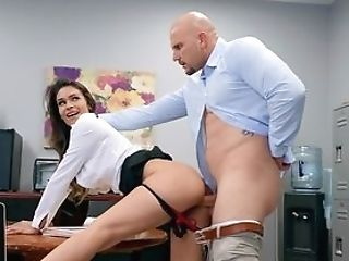 Man With Large Penis Fucks The Mummy Right In Her Office
