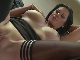 Big-titted German Matures Pays With Her Assets