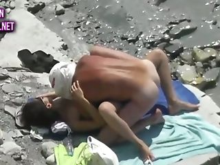 These Shameless Beach Bangers Are Luving Some Sultry Fuck On The Beach