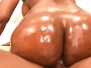 Fabulous Black Hotty Nyomi Banxxx Is Blessed To Get Her Greased...
