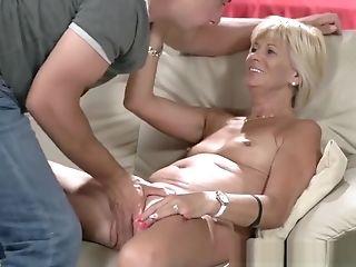 Grandma Gets Tongued