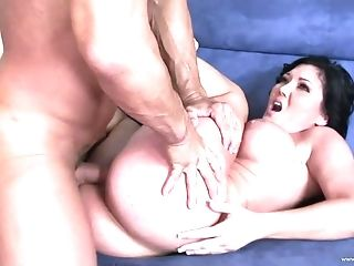 Buxomy Mummy In A Nasty Rear End Style Pounding