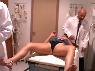 Hot Patient Gets Her Honeypot And Donk Checked By Suspended Doctors