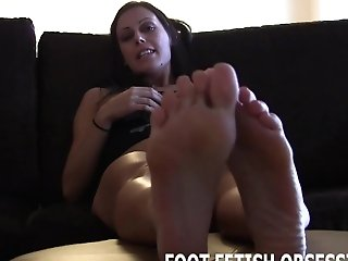 Slurp Inbetween Each One Of My Little Toes