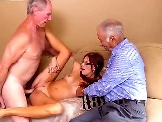 Unexperienced Sandwich And Unexperienced Nubile Tits