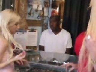 Large Breast Mommy Sold Step Daughter-in-law To Monster Black...