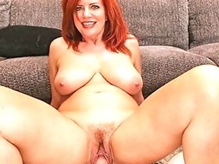 Milftrip Big Tit Sandy-haired Mummy Creams On Big Dick