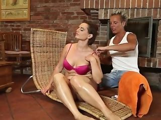 Chubby Cougar Orders Blessed Ending Rubdown four::deep...