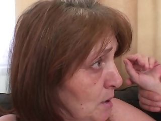 Old Big-boobed Gfs Mom Gets Taunted And Rear End-fucked