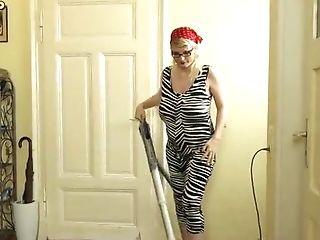 Preggo Cleaning Lady