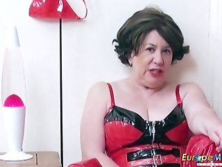 Garbage Pornography Vid Of One Lustful And Perverted Old Woman In...