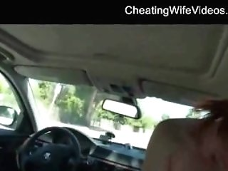 Wasted Biotch Cheating Wifey Railing And Drinking Jizz While Hubby...