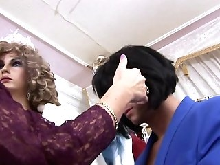 Greedy Bitch Bj's Customer's Dick In A Clothes Shop