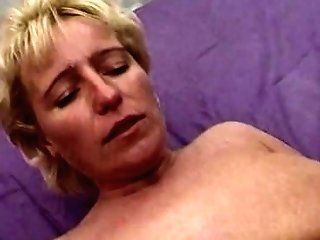 Blonde Buxomy Matures Fisted Fucked By Three Guys
