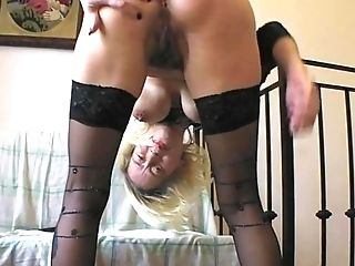 Blonde Vaginal Handballing