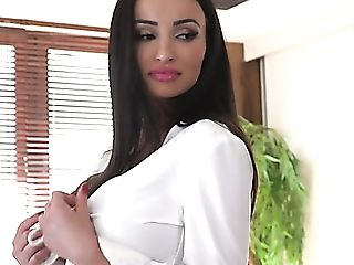 Lengthy Haired Beautiful Romanian Honey Alyssia Kent Gives Such A...