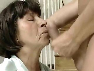 Granny Maid Gets Fucked.