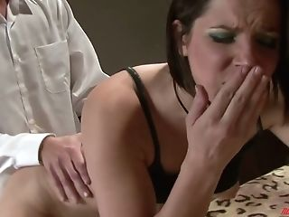 Youthful Dark-haired Has An Affair With Her Hubby's Friend