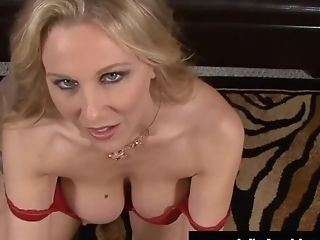 Yankee Woman Julia Ann Face Fucks Hard Spear Point Of View!