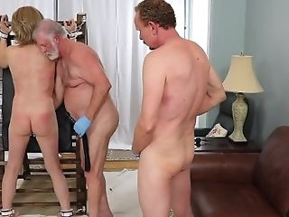 Laci Luvcox Big-chested Mom Hard Bondage & Discipline Restrain...