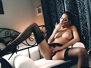 Asian Beauty's Big Tits Bounce Insanely As She Rails Her Fuck...