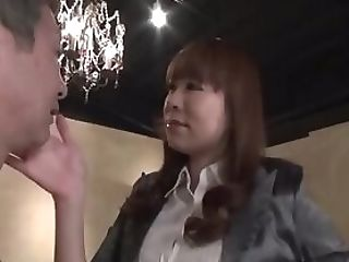 Japanese Mistress Takes Care Of Old Man