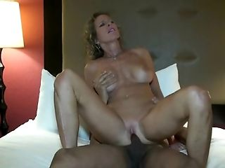 Hot mummy interracial hotwife