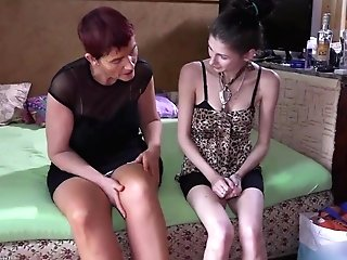 Compilation Of Granny And Nubile Sapphic Act