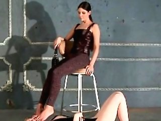 Mistress Ira Ideal Feet And Footwear Adoration By Victim Woman