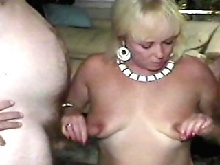 Two Guys No Match For Chunky Blonde Pt1/two -sunshine
