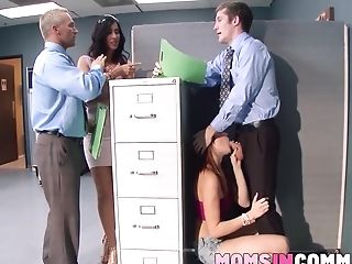 Ariana Marie And Isis Love Share A Bone While On Work