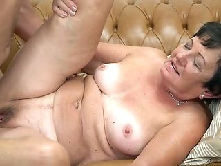Trampy Old Woman Hettie Is Making Love With Her Youthfull Neighbor