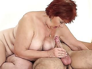 Matures Ginger-haired With Saggy Tits Marsha Is Ready For Some Good...
